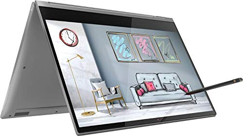 2019 Lenovo Yoga C930 2-in-1 13.9' FHD Touch-Screen Laptop - Intel i7, 12GB DDR4, 512GB PCIe SSD, 2x Thunderbolt 3, Dolby Atmos Audio, Webcam, WiFi, Active Pen, 3 LBS, 0.6', Windows 10, Iron Gray