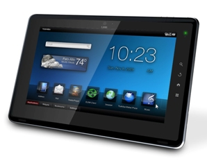 Folio 100 Android Tablet by Toshiba