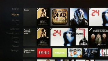 Amazon Fire TV Menu