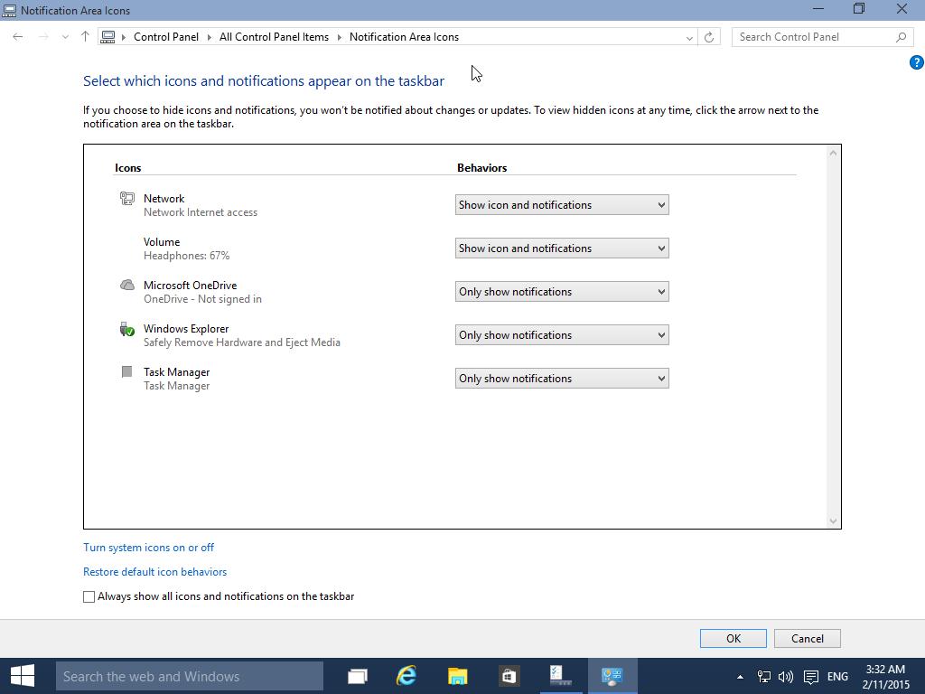 The New Windows 10 Notification Center   Tech 21 Century