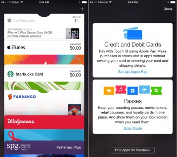 Passbook Apple Pay