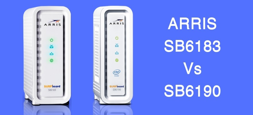 comparison between arris sb6183 vs sb6190