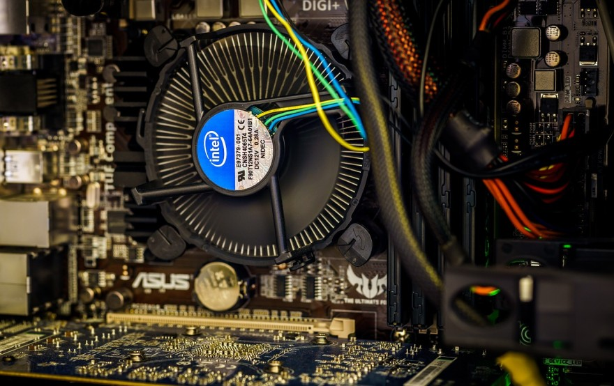 thermal paste on cpu