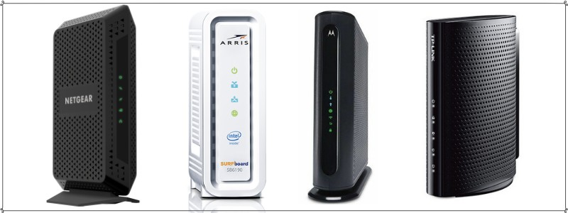 Compatible wireless routers and modems for charter