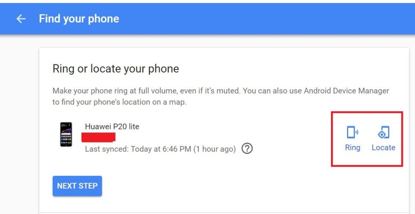 locate phone