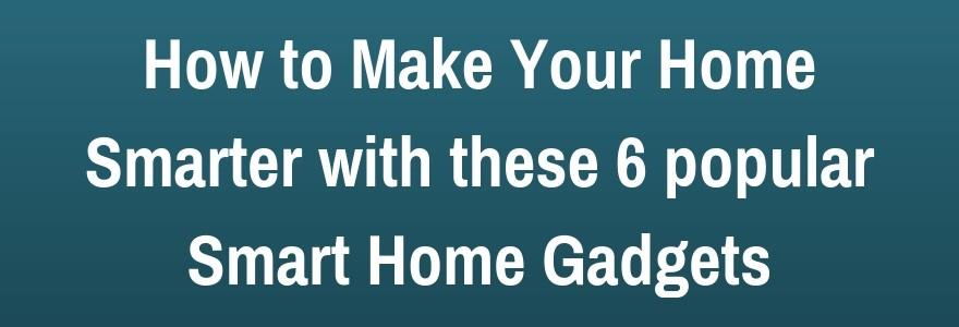 how to make home smarter