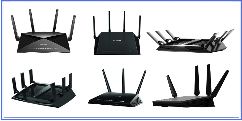 comparison of the various netgear wifi routers