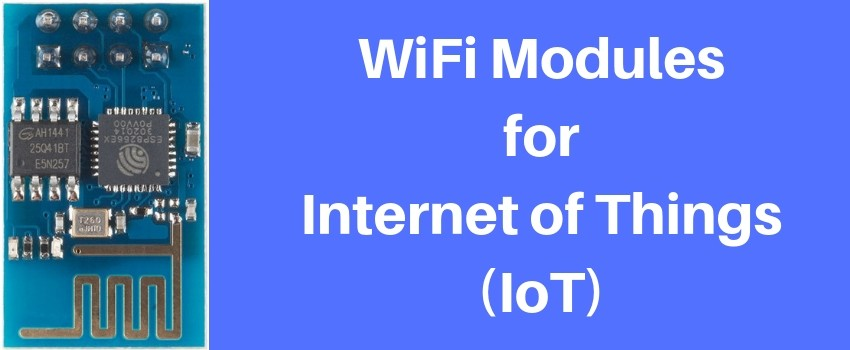 wifi modules for iot