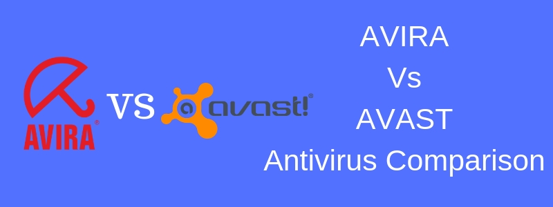 comparison article of avast and avira
