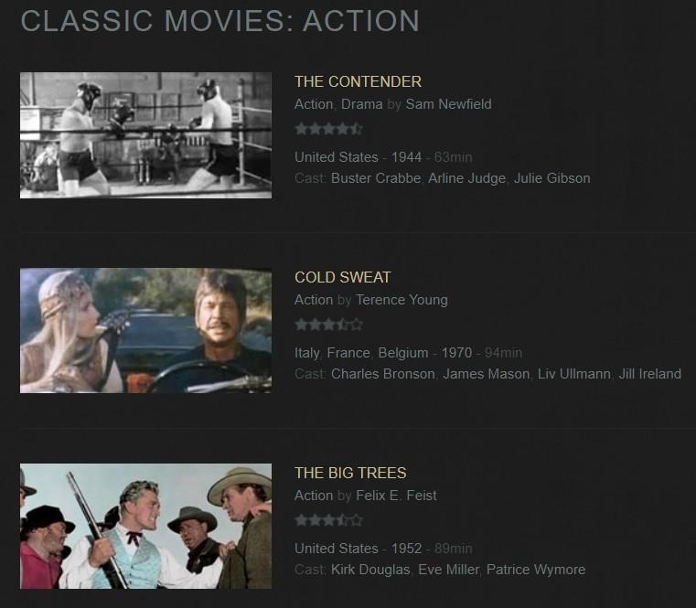 classic movies