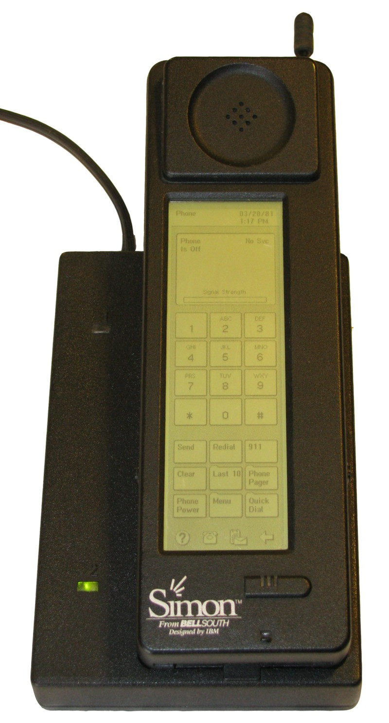 ibm simon phone