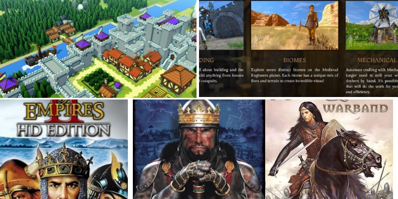 top games for pc in medieval age