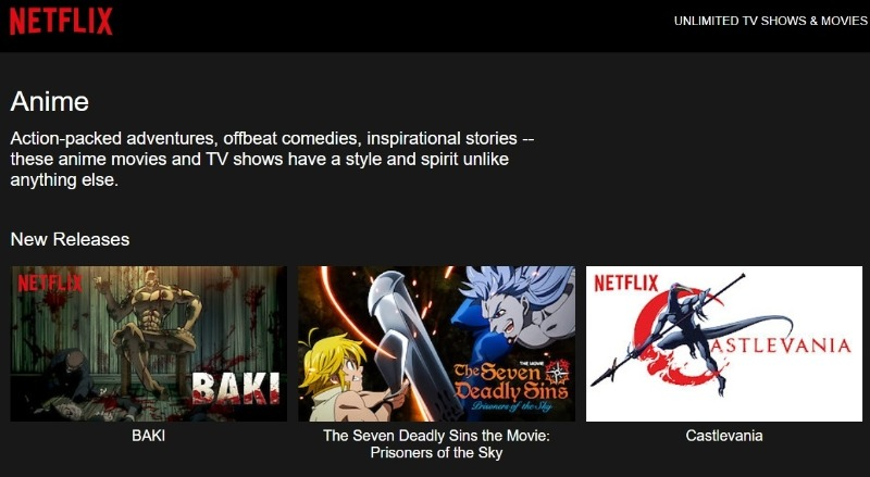 15 Best English Dubbed Anime Streaming WebSites that are