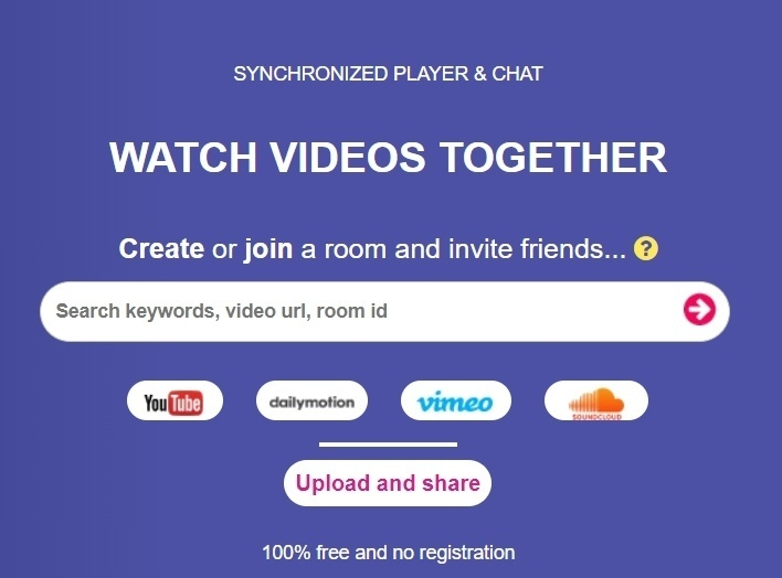 13 Sites Like Rabb it (Alternatives) to Watch Videos With Friends in