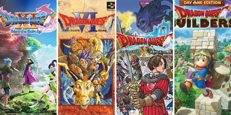 10 dragon quest games