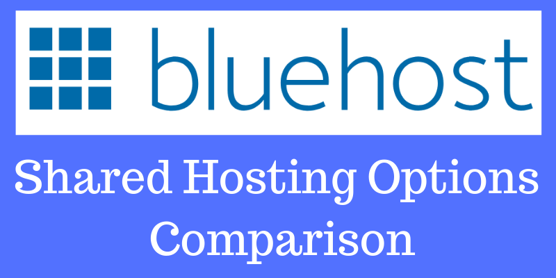 comparison of shared hosting packages