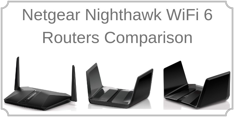 802.11ax netgear routers