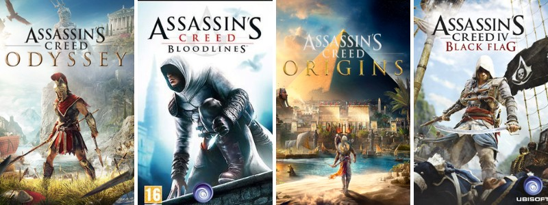 AC games list in chronological