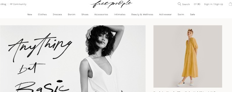 free people shop