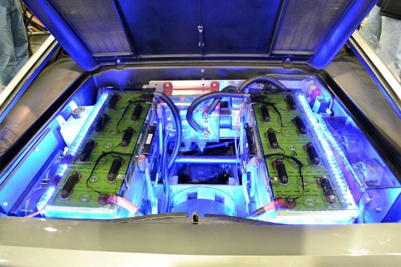 modern car electric engine