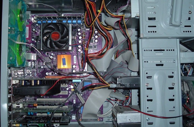 inside a computer system