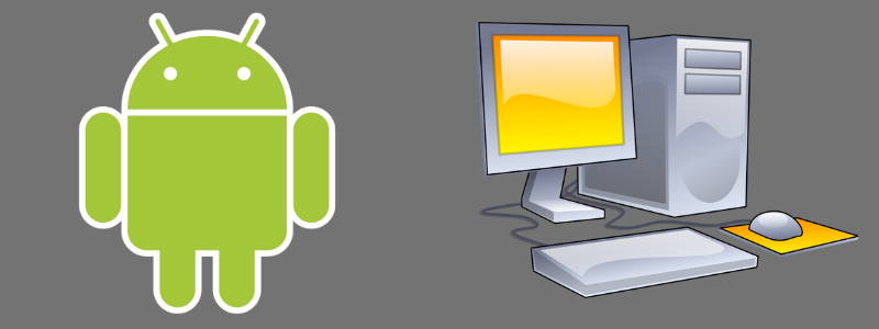 using android on regular computers