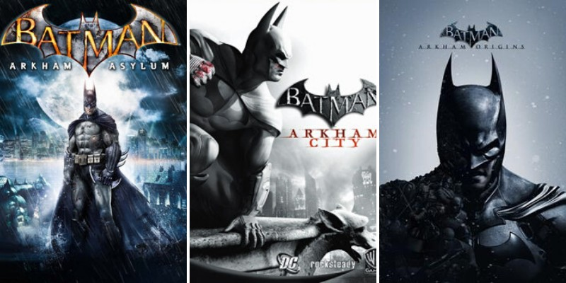 series of batman video games