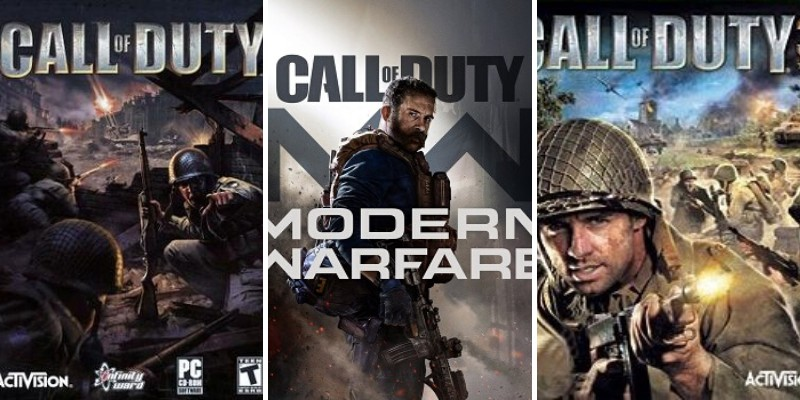 the series of call of duty video games