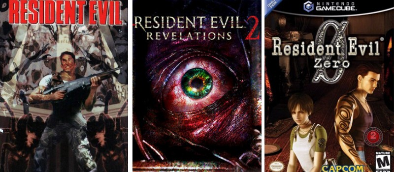 series of resident evil franchise