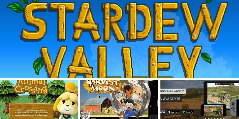 similar video games to stardew valley