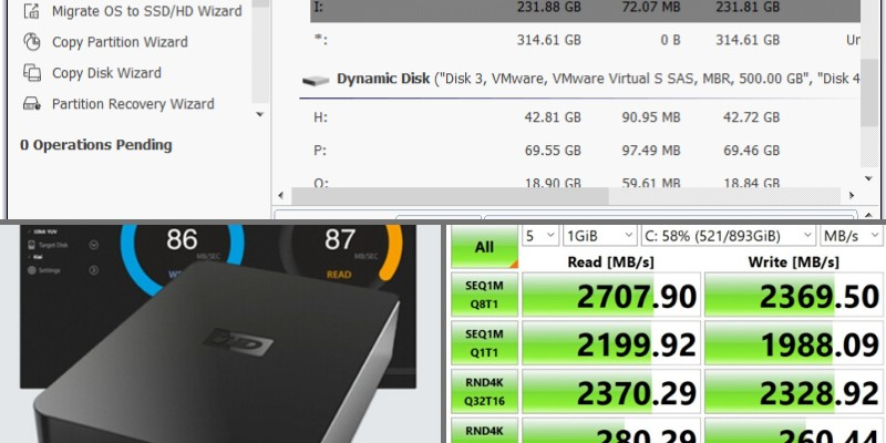 speed test software for ssd hdd