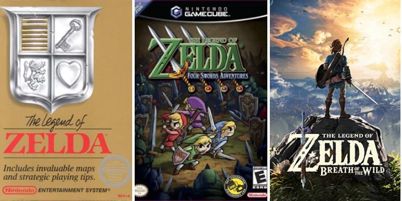 all games in legend of zelda series