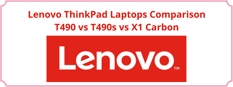 comparison of business lenovo laptops