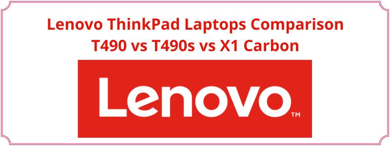comparison of business lenovo laptops