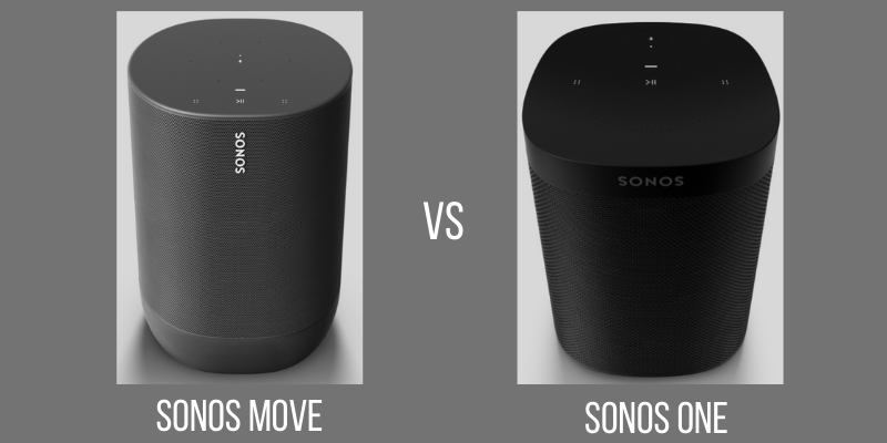 sonos speakers comparison
