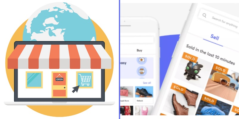 online marketplace apps similar to mercari