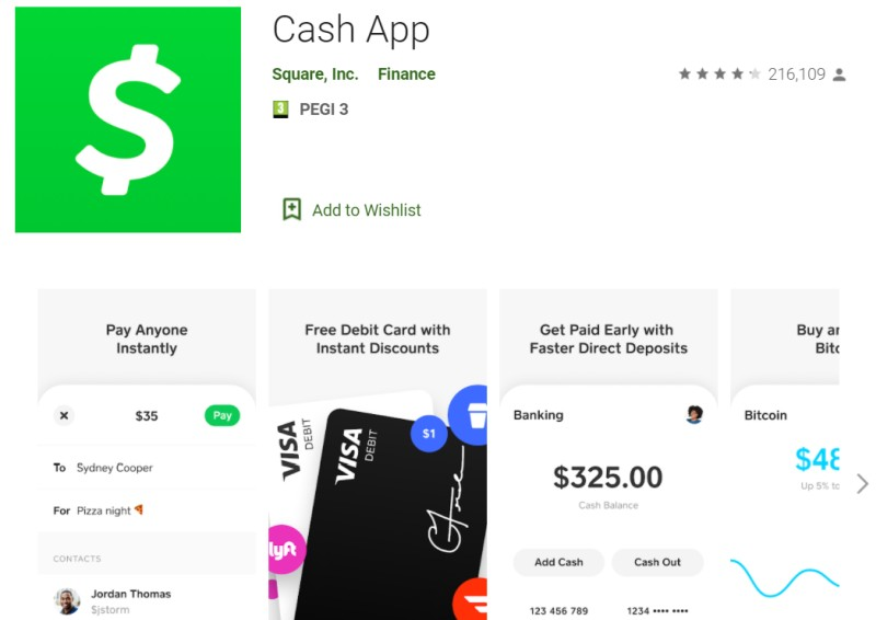 cash app android app
