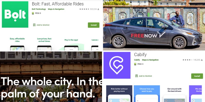 alternatives to uber