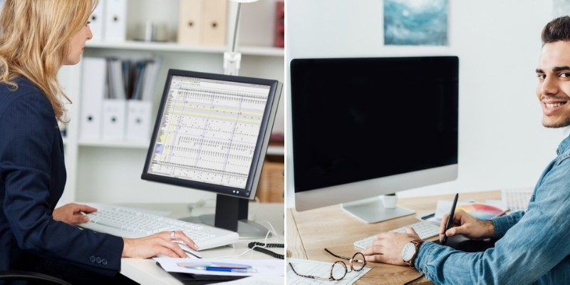 various kinds of monitors for computers