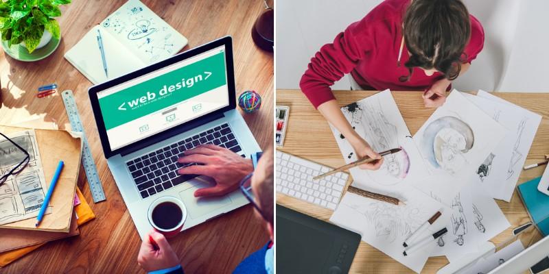 website ideas for designers