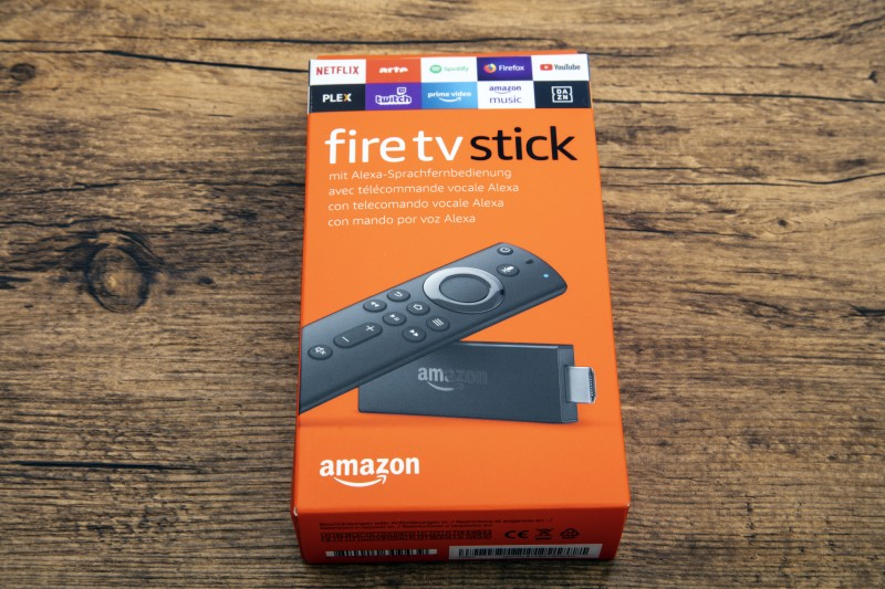 a box with fire stick