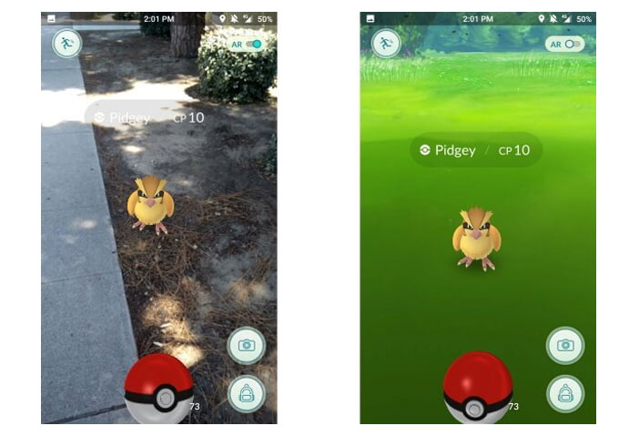 turn off ar pokemon go