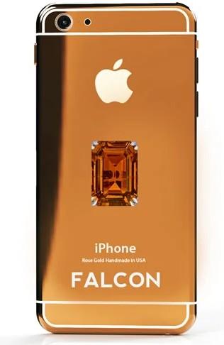 falcon orange diamond