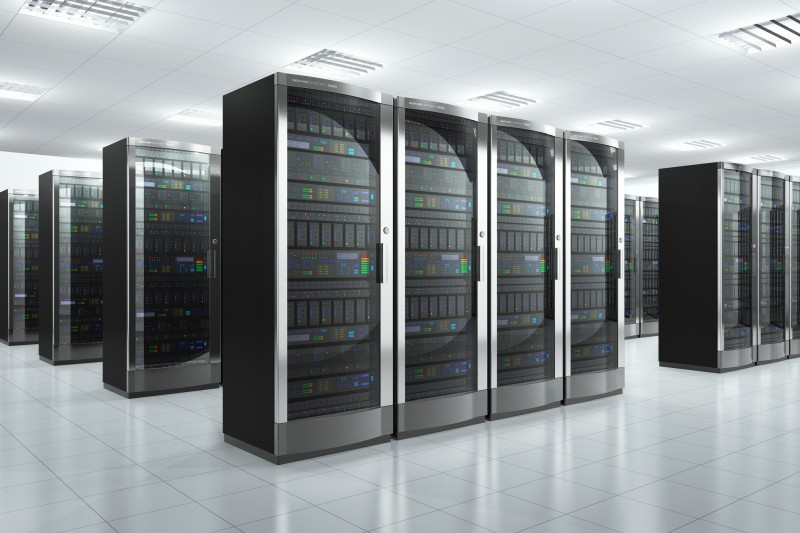 Data center offering IaaS services
