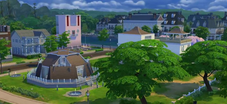 Homes in The Sims