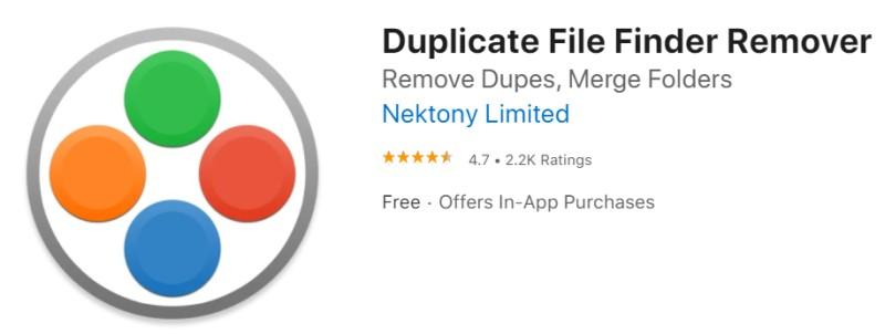 duplicate finder for mac
