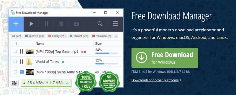 fdm free download manager