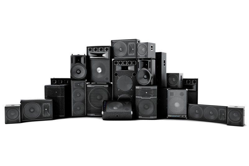 different types of loudspeakers
