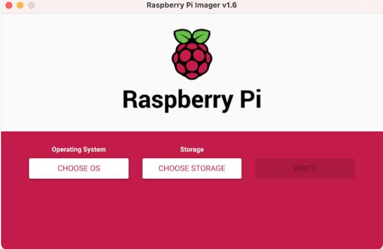 original raspberry pi operating system