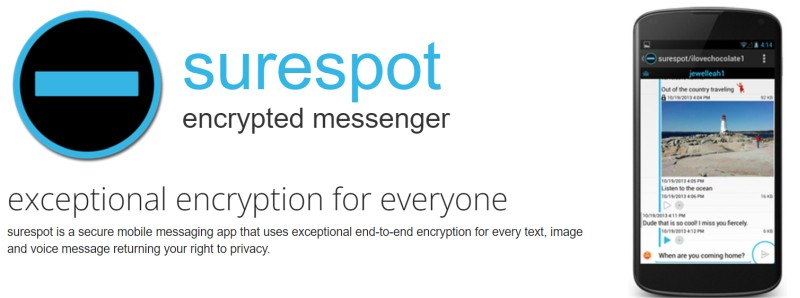 surespot encrypted messaging
